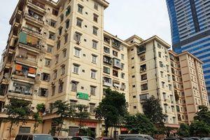 Hà Nội: Dùng tiền cho thuê diện tích kinh doanh dịch vụ để hỗ trợ bảo trì chung cư tái định cư