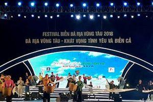 Khai mạc Festival Biển Bà Rịa - Vũng Tàu 2018