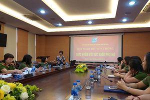 Cán bộ phụ nữ Công an Thủ đô được bồi dưỡng kiến thức về sức khỏe và thực phẩm