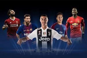 Bốc thăm chia bảng Champions League: Ronaldo có thể đối đầu Salah