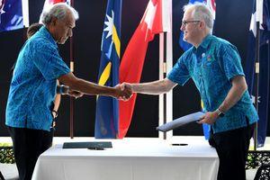 Phương Tây tăng cường ngoại giao ở Thái Bình Dương, đối trọng TQ