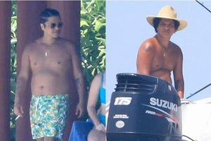 Bruno Mars gây sốc khi lộ thân hình béo, bụng phệ