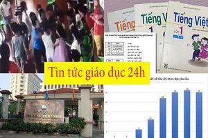 Tin tức giáo dục 24h: Chấm dứt hợp đồng giáo viên để trẻ đánh hội đồng bạn; Ồn ào cách đánh vần Tiếng Việt 'lạ'
