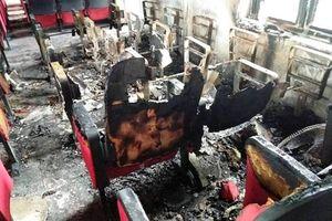 Thanh Hóa: Điều tra vụ nổ bất ngờ tại trụ sở UBND xã