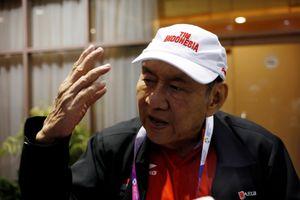 ASIAD 18: Tỉ phú giàu nhất Indonesia hạnh phúc với huy chương đánh bài