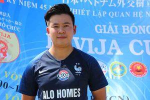 Nhà khởi nghiệp 28 tuổi trở thành đại sứ bóng đá Việt Nam tại Nhật