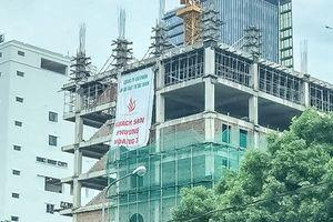 Công ty Ba Đình xây dựng công trình sai phép