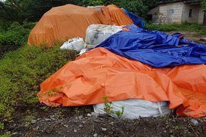Thái Nguyên: Liệu có bỏ lọt tội phạm trong vụ đổ trộm hàng trăm tấn chất thải nguy hại ?