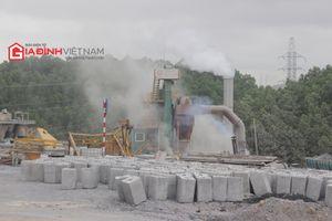 Trạm trộn bê tông Speco của Phương Thành Tranconsin 'bức tử' môi trường ở Quảng Ninh