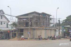 Thị xã Thái Hòa xử lý thông tin vụ việc xây dựng sai phép ở phường Quang Tiến