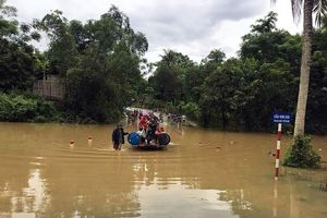 Nghệ An ra công điện khẩn, ứng phó với ngập lụt do thủy điện xả lũ