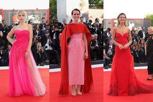 Dàn mỹ nhân thi nhau nhuộm đỏ hồng Liên hoan phim Venice 2018