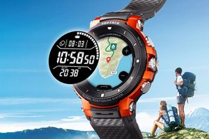 Đồng hồ thông minh mới của Casio có bản đồ màu và theo dõi GPS