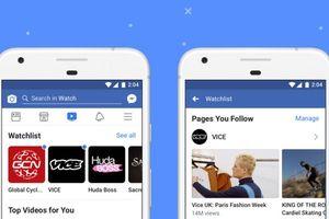 Facebook ra mắt tính năng Watch trên toàn cầu