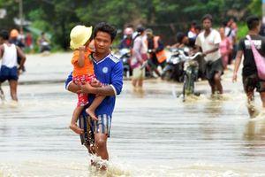 Vỡ đập tại Myanmar: Hàng nghìn người dân phải sơ tán