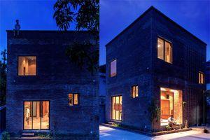 Thêm một ngôi nhà gạch nung đơn giản ở Quảng Ninh 'sốt' trên báo Tây