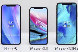 Bất ngờ với cách mà Apple sẽ đặt tên cho 3 chiếc iPhone mới sắp sửa ra mắt