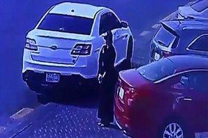 Xôn xao clip người phụ nữ đầu tiên trộm xe hơi ở Ả Rập