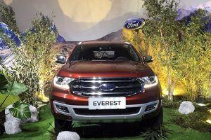Ford Everest 2018 ra mắt tại Việt Nam, giá từ 1,112 tỷ đồng
