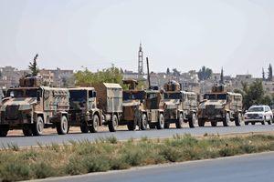 Thêm một đoàn xe quân sự của Thổ Nhĩ Kỳ đến Syria