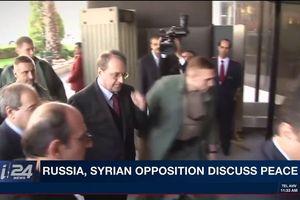 Nga gặp lãnh đạo phe đối lập Syria tìm giải pháp hòa bình