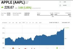 Apple kiếm đậm nhờ tin iPhone ra mắt
