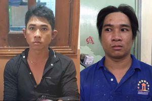 Nhận diện 2 tên trộm xe SH ở Sài Gòn qua camera an ninh