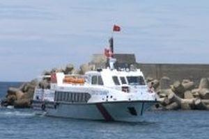 Cồn Cỏ đã có tàu cao tốc đưa khách ra đảo