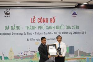 Đà Nẵng được công nhận là 'Thành phố Xanh quốc gia 2018'