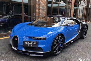 'Soi' siêu xe Bugatti Chiron hơn 150 tỷ đồng tại Trung Quốc