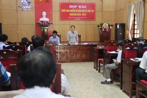 Nhiều vấn đề quan trọng tại họp báo triển khai nhiệm vụ giáo dục