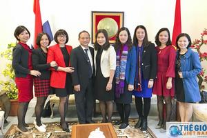 Đoàn công tác Kho bạc Nhà nước thăm làm việc tại Hà Lan