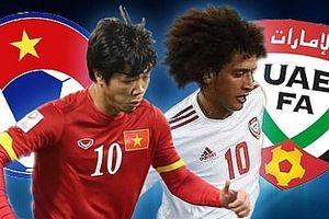 Tường thuật trực tiếp U23 Việt Nam vs U23 UAE