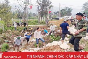 Ngọc Sơn ra quân 100 ngày hoàn thành xây dựng nông thôn mới