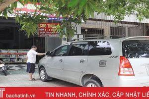 Ế ẩm dịch vụ cho thuê xe tự lái ở TP Hà Tĩnh dịp nghỉ lễ 2/9