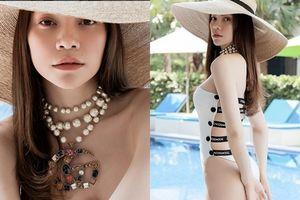 Hồ Ngọc Hà phô diễn hình thể nuột nà với bikini