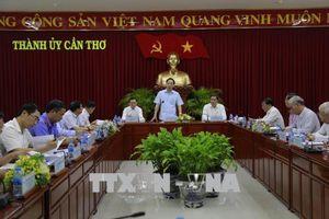 Đoàn công tác Ban Chỉ đạo TW về phòng, chống tham nhũng làm việc tại Cần Thơ