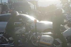 Đà Nẵng: Xác minh danh tính 'hotgirl' phê ma túy đánh võng trên phố