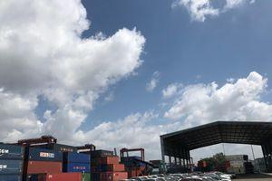 Thanh tra giao thông Tp.HCM kiểm soát tải trọng phương tiện từ bến cảng