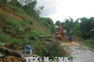 Hòa Bình khẩn trương khắc phục thiệt hại giao thông do mưa lũ gây ra