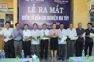 Thừa Thiên Huế: Ra mắt điểm tư vấn cai nghiện ma túy tại cộng đồng đầu tiên