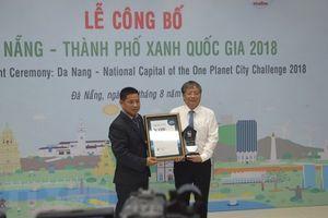 Đà Nẵng là thành phố xanh quốc gia của Việt Nam năm 2018