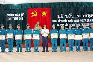 Gần 150 học viên tốt nghiệp trung cấp chuyên nghiệp chuyên ngành quân sự cơ sở