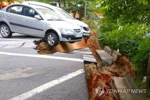 Hàn Quốc: Xuất hiện hố sụt lún sâu gần khu chung cư ở Seoul