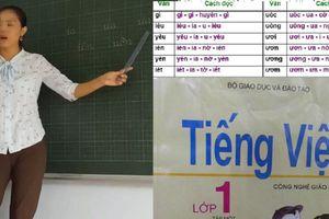 Dạy tiếng Việt lớp 1 theo sách Công nghệ giáo dục, giáo viên nói gì?