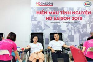 HD SAISON Hà Nội hiến máu cứu người