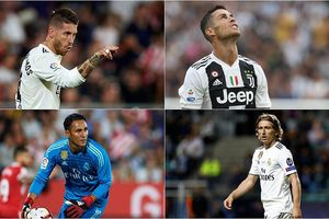 Cầu thủ xuất sắc nhất năm: Modric vượt mặt Ronaldo và Salah