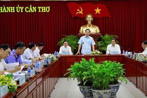 Đoàn Công tác BCĐ TƯ về phòng, chống tham nhũng làm việc tại Cần Thơ