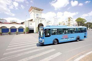 Xây dựng nhiều trạm nạp gas cho xe buýt
