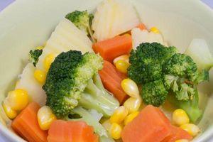 8 lý do bạn nên ăn rau củ luộc hàng ngày